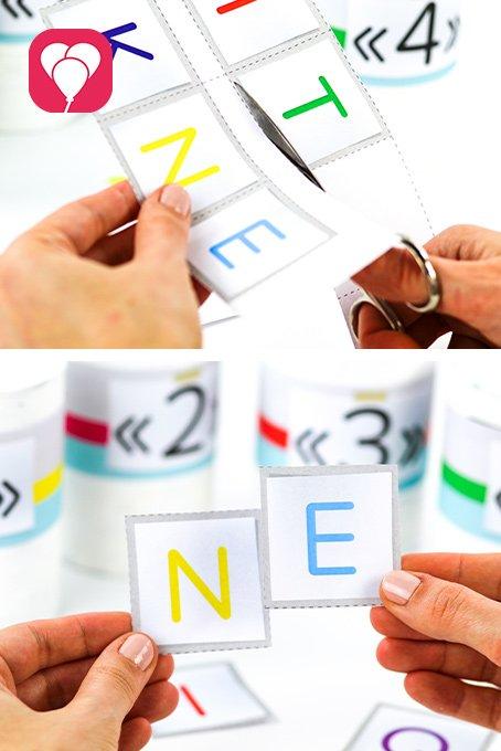 Esacpe Room Team Edition - Buchstaben