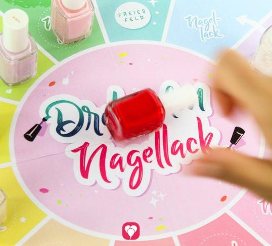 Beauty Party Spiel - Dreh den Nagellack