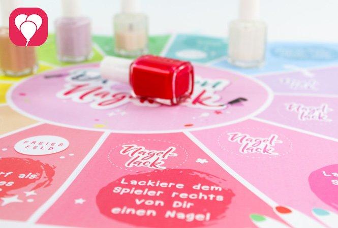 Beauty Party Spiel - Aufgaben für die Spieler