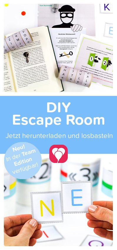 Escape Room Team Edition - Pinterest Pin