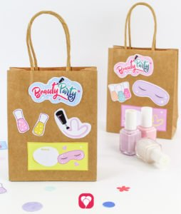 Beauty Party Stickers - balloonas
