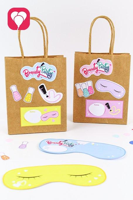 Beauty Party Geschenketaschen