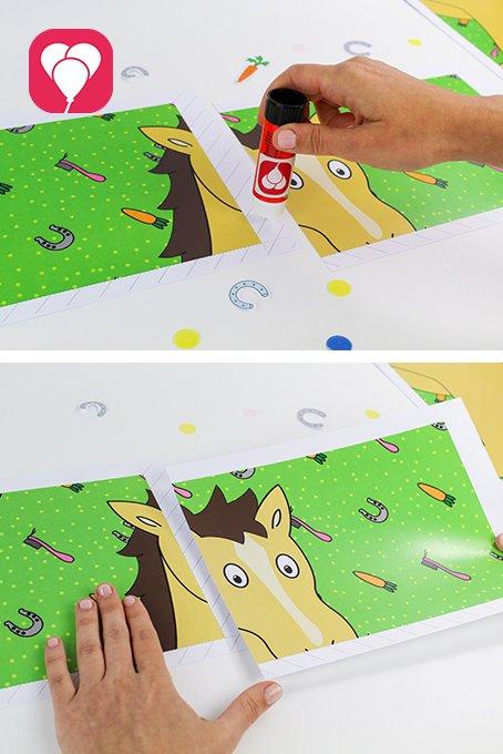 Pferde Schatzsuche - Pferde Poster Sternschnuppe
