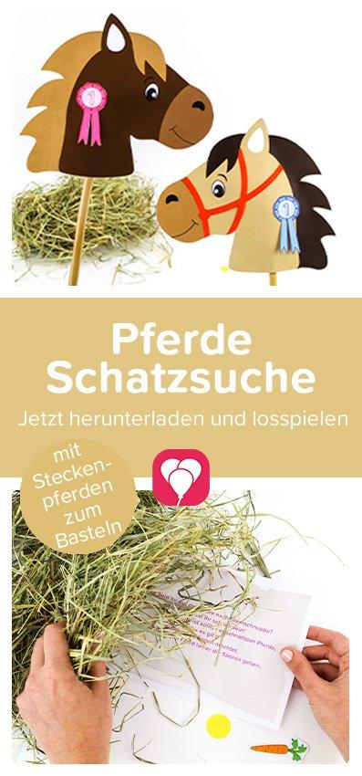 Pferde Schatzsuche Pinterest Pin
