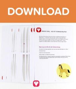 Pferde Schatzsuche - Download Spielanleitung