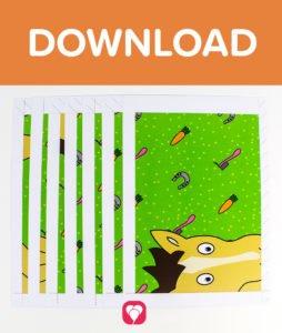 Pferde Schatzsuche - Download Pferde Poster
