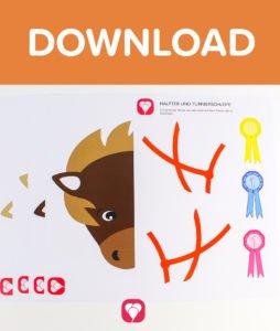 Pferde Schatzsuche - Download Sticker