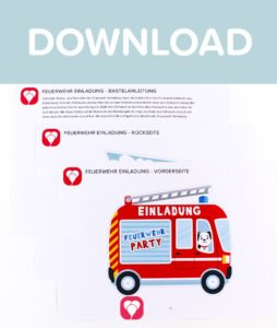 Feuerwehr Einladung - Download
