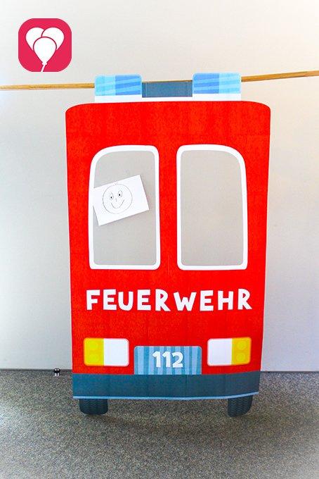 Feuerwehr Geburtstag - Feuerwehr Photo Booth