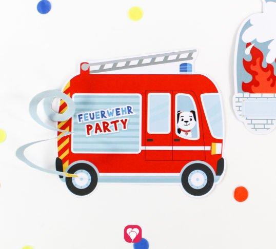 Feuerwehr Karte - balloonas.com
