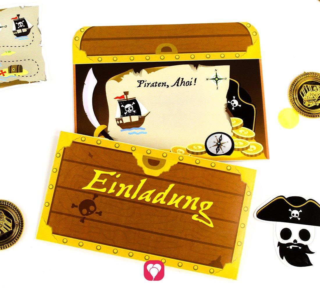 Piraten Einladung