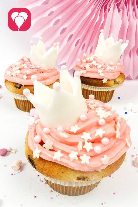 Prinzessinnen Muffins - Beauty Party Zuhause