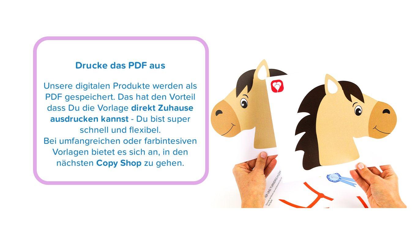 PDF ausdrucken - Basteltipps