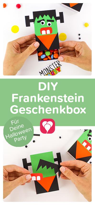 Halloween Geschenk verpacken - Pinterest Pin