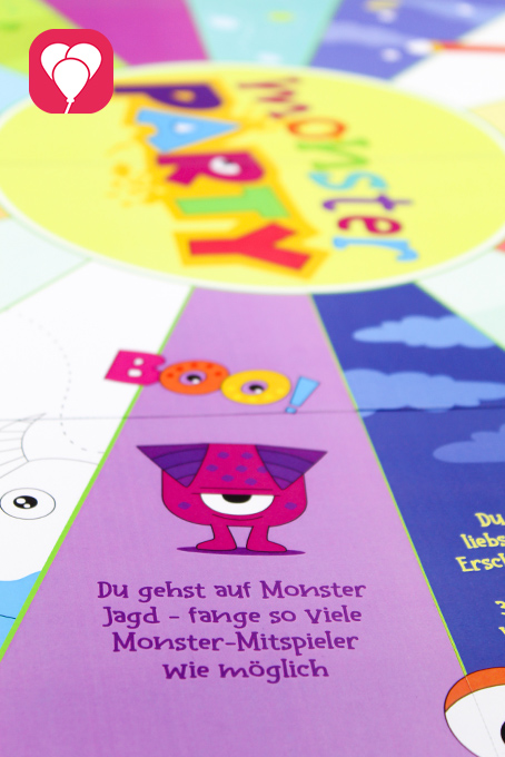 Monster Flaschendrehen als Halloween Partyspiel für Kinder