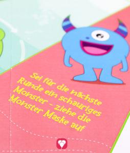 Monster Flaschendrehen - Aufgabenfeld