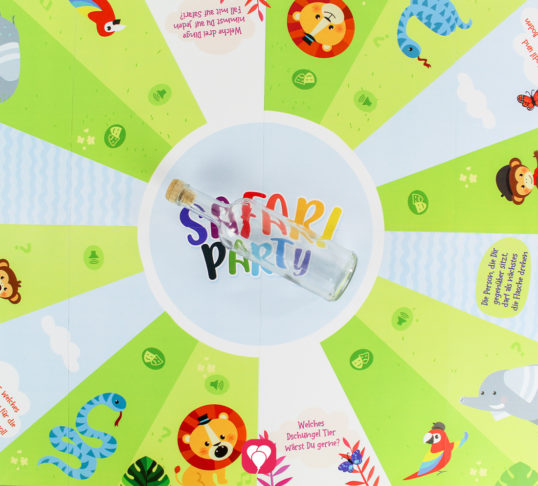Safari Flaschendrehen - balloonas