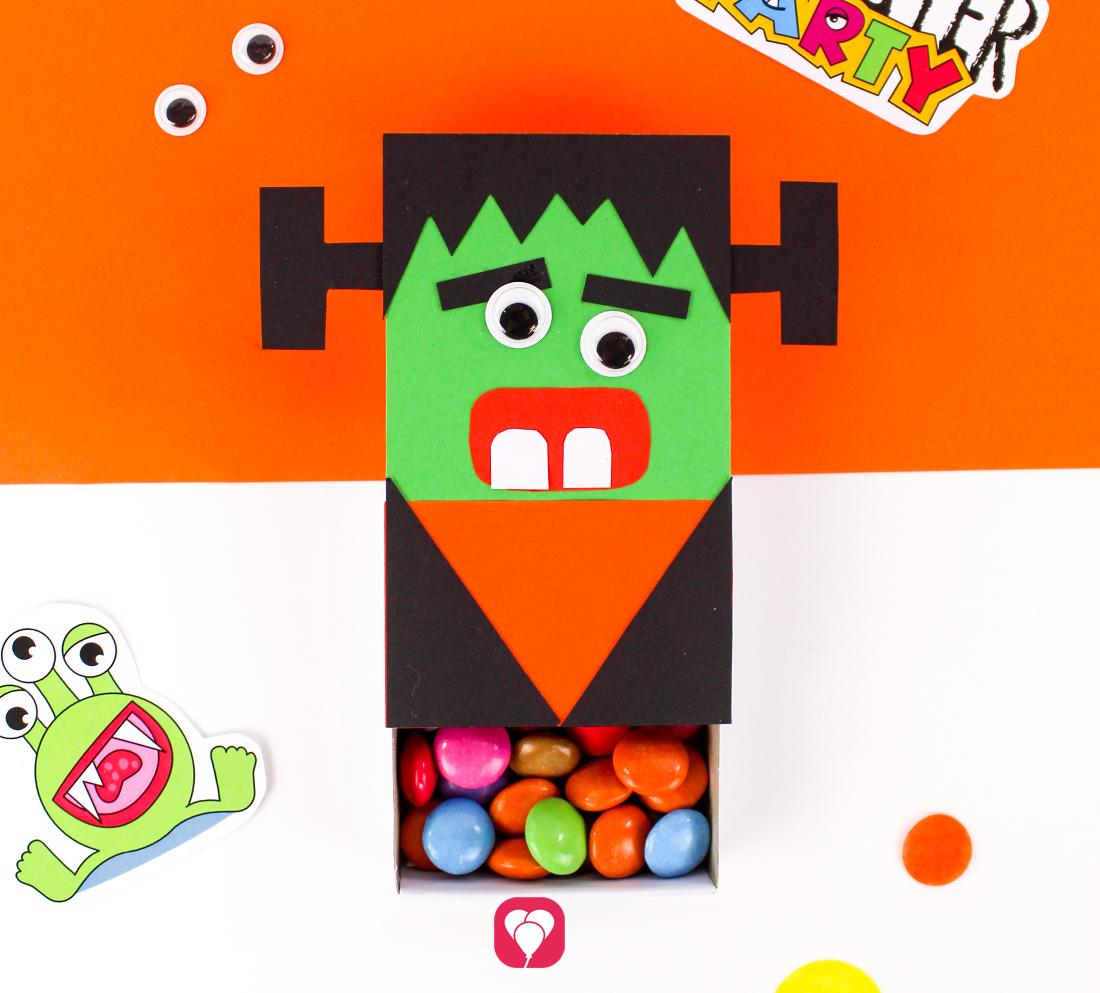 DIY Frankenstein Geschenkbox