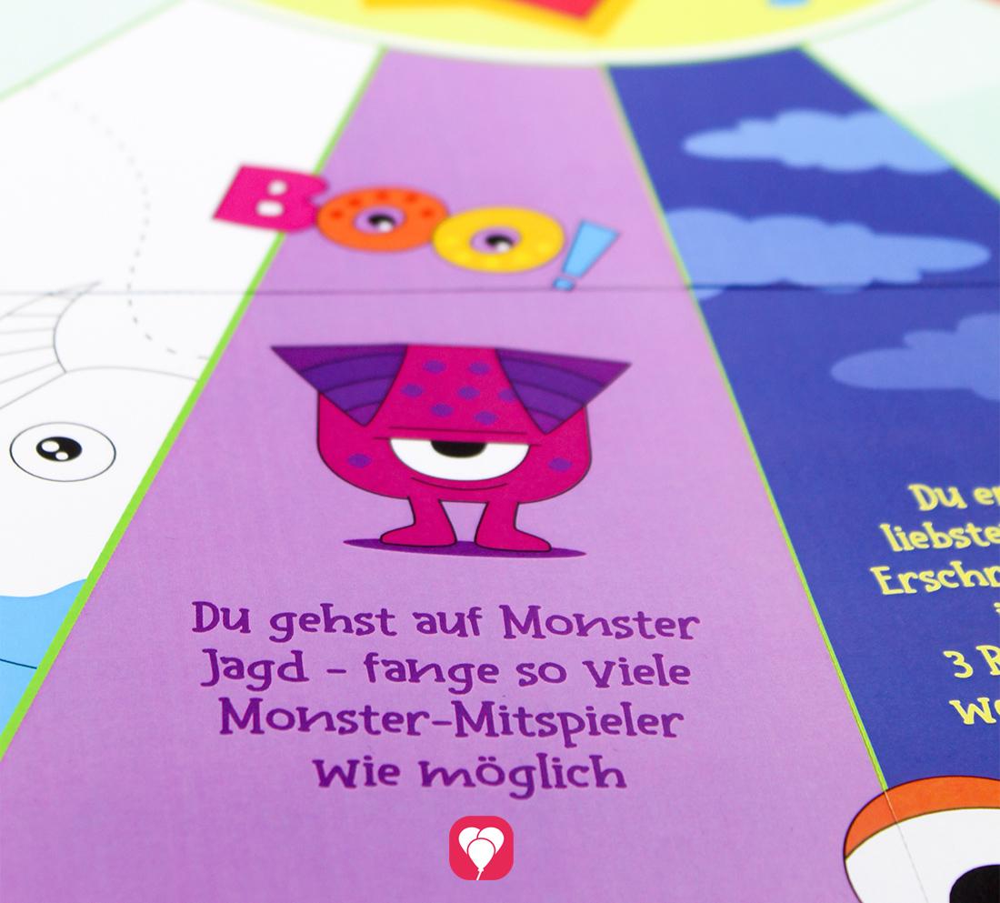 Lustiges Monster Partyspiel