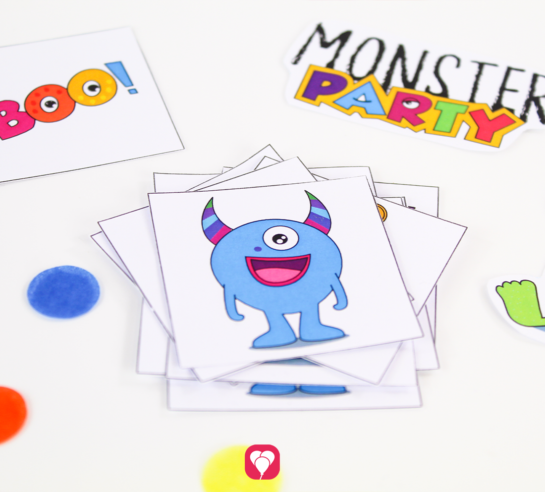 DIY Monster Memory basteln