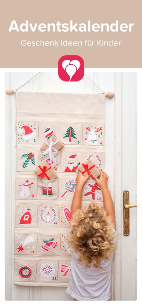 Adventskalender Inhalt - Kalender befüllen für Kinder | balloonas.com