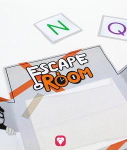 Escape Room Einladung - Innenseite