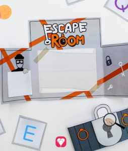 Escape Room Einladung - balloonas